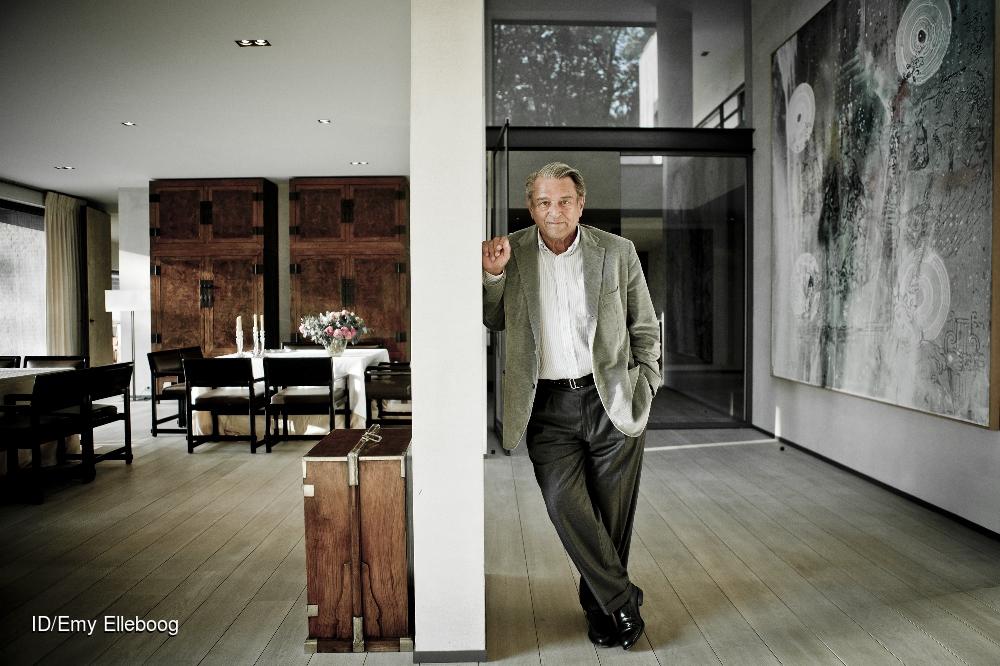 Baron Guy Ullens de Schooten ©Emy Elleboog CREDIT: Imagedesk / Emy Elleboog