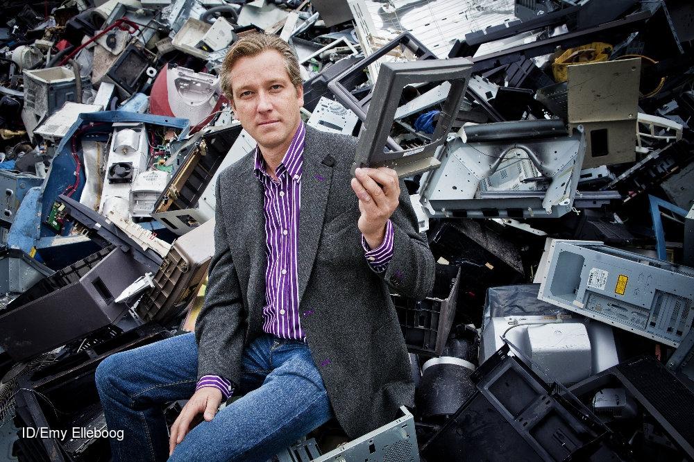 Group Galloo Recycling: Pierre Van De Putte ©Emy Elleboog  CREDIT: Imagedesk / Emy Elleboog