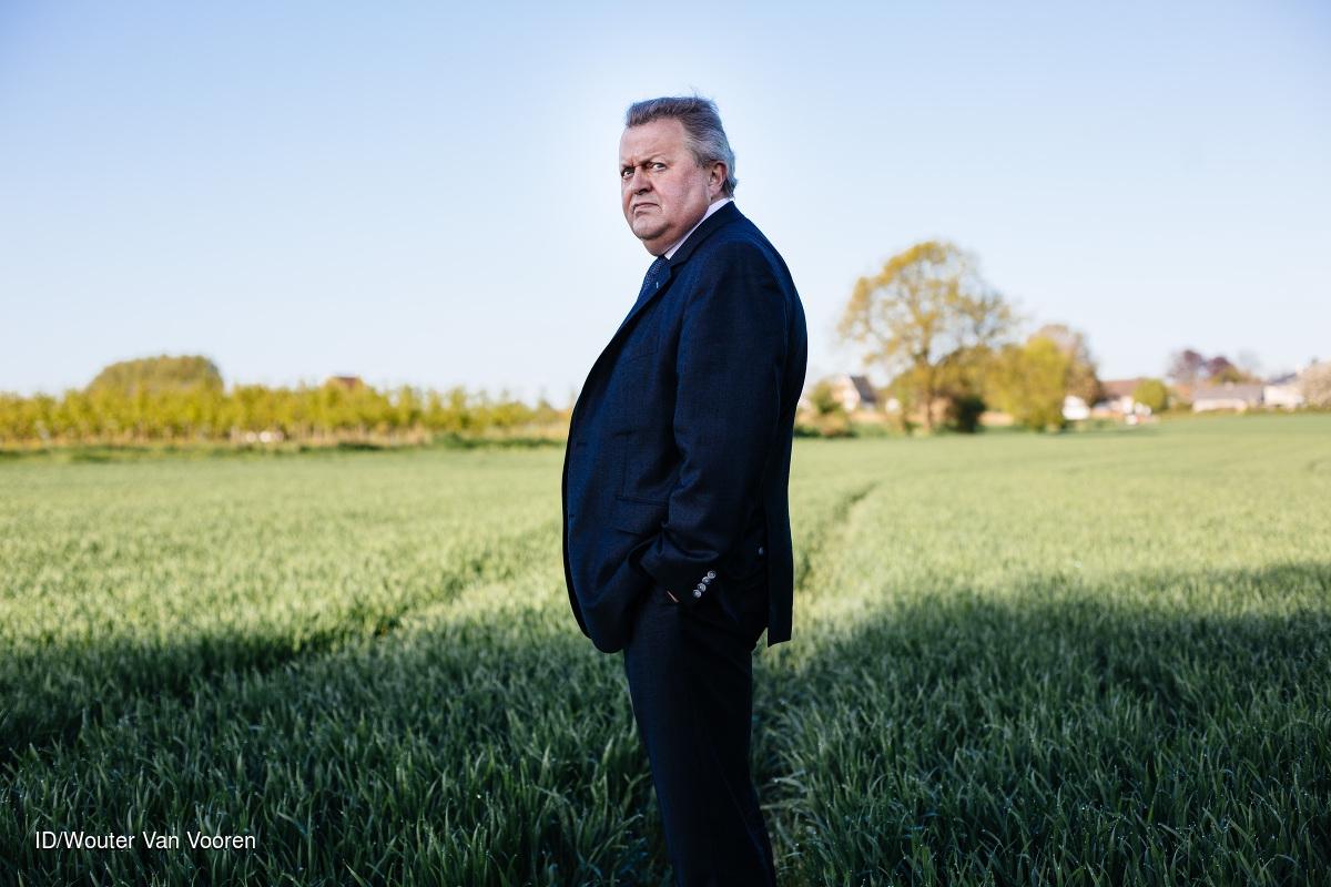 15042014 TOMBEEK Piet Vanthemsche, voorzitter van de Belgische Boerenbond.  CREDIT: Imagedesk / Wouter Van Vooren