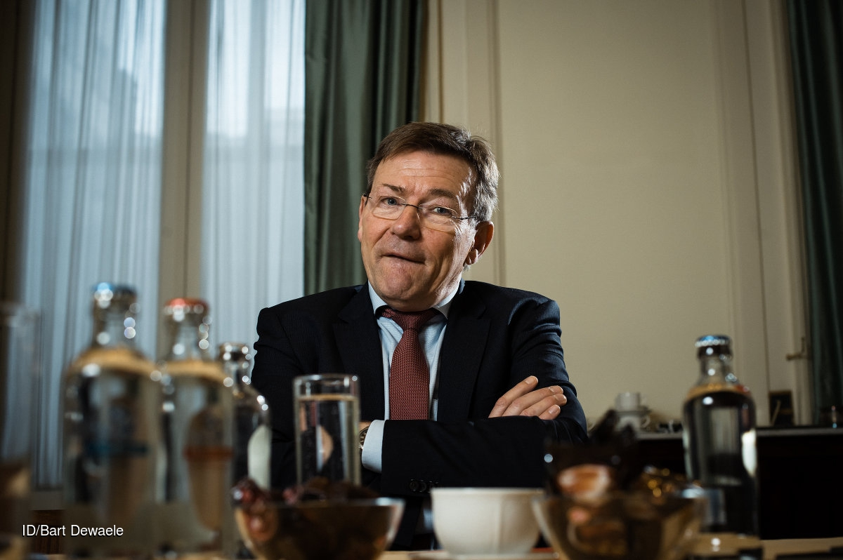 Johan Van Overtveldt, federaal Minister van Financiën