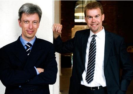 Geert Noels en Geert Wellens