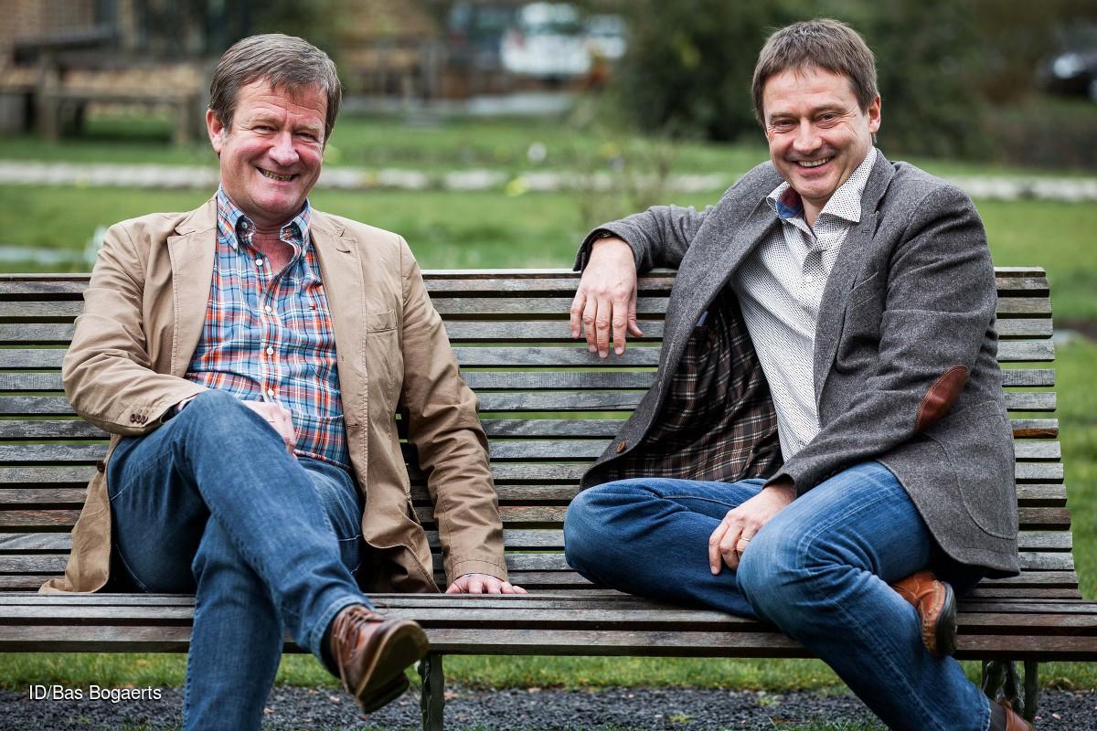 Wouter Torfs (links) en Frans Colruyt, twee van de zes soulmates.