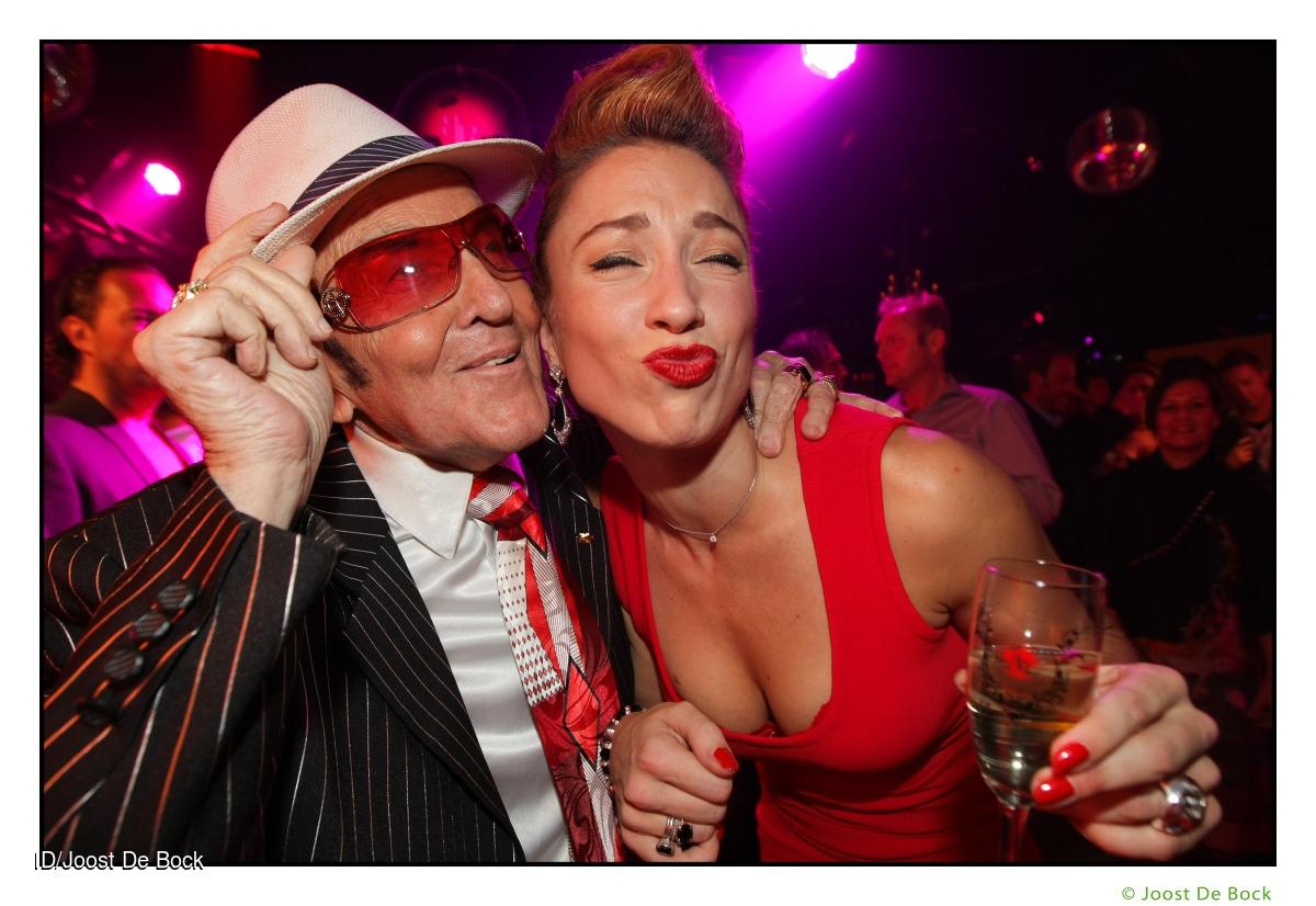 Eddy Wally danst met Natalia Druyts