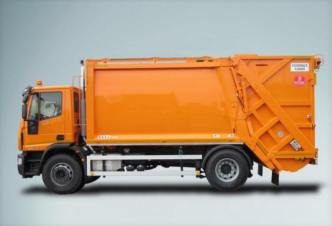 Mol vuilniswagen