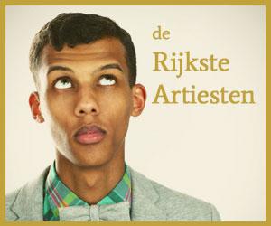 Rijkste belgen artiesten
