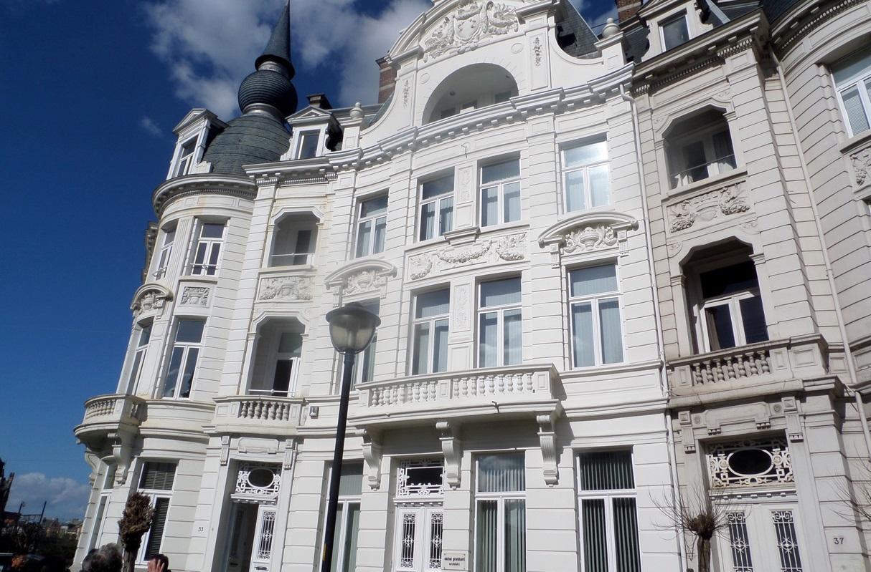 Het hoofdkwartier van Innovad aan de Cogels Osylei in Berchem.